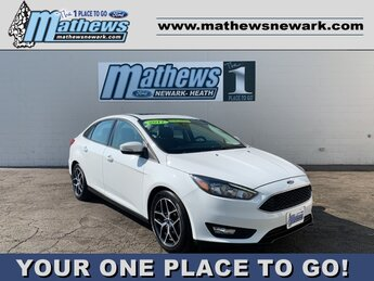 2017 Ford Focus SEL Sedan Automatic 4 Door 2.0 L 4-Cylinder Engine