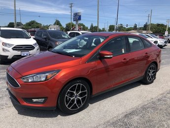 2018 Ford Focus SEL Automatic 2.0L I-4 GDI Ti-VCT Engine 4 Door