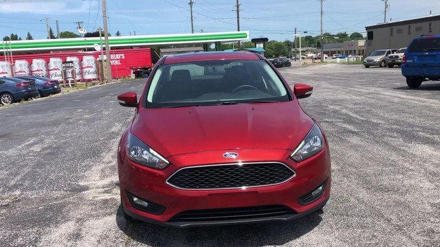 2018 Ford Focus SEL Automatic 4 Door 2.0L I-4 GDI Ti-VCT Engine FWD