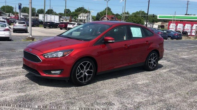 2018 Ford Focus SEL FWD Sedan Automatic 2.0L I-4 GDI Ti-VCT Engine 4 Door