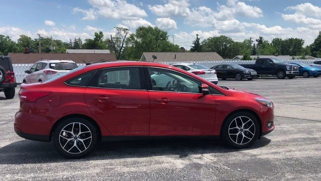 2018 Ford Focus SEL FWD 2.0L I-4 GDI Ti-VCT Engine Sedan Automatic 4 Door