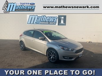 2018 White Ford Focus SEL 4 Door Hatchback Automatic 2.0 L 4-Cylinder Engine