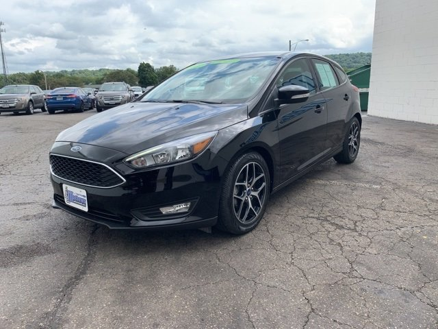 2017 Ford Focus SEL Automatic 4 Door 2.0 L 4-Cylinder Engine
