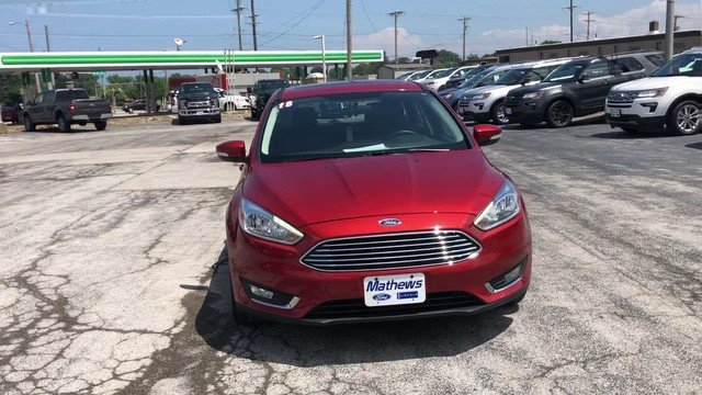 2018 Ford Focus Titanium Hatchback 4 Door 2.0L 4-Cyl Engine
