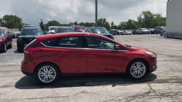 2018 Ford Focus Titanium FWD Automatic 2.0L 4-Cyl Engine 4 Door Hatchback