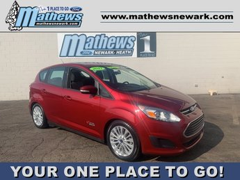 2017 Ruby Red Metallic Tinted Clearcoat Ford C-Max Energi SE Automatic (CVT) 4 Door Hatchback