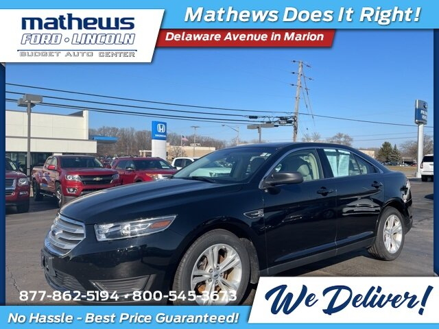 2018 Shadow Black Ford Taurus SE Car Automatic 3.5L V6 Ti-VCT Engine 4 Door