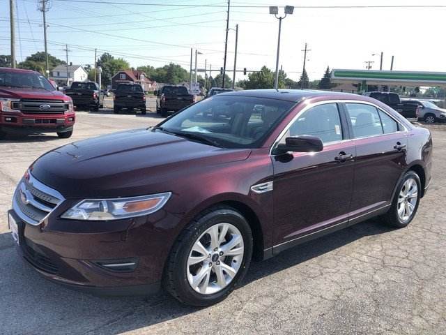 2011 Bordeaux Reserve Red Metallic Ford Taurus SEL 4 Door Automatic 3.5L V6 Duratec Engine Sedan FWD