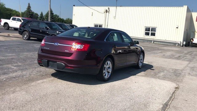 2011 Bordeaux Reserve Red Metallic Ford Taurus SEL FWD 3.5L V6 Duratec Engine Automatic 4 Door