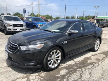 2013 Tuxedo Black Metallic Ford Taurus Limited Car 3.5L Ti-VCT V6 FFV engine FWD Automatic 4 Door