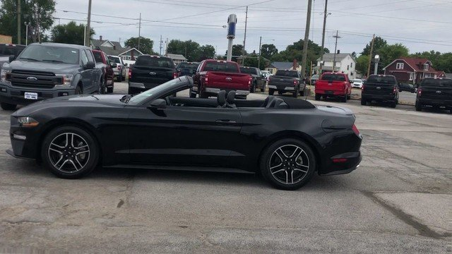 2018 Shadow Black Ford Mustang EcoBoost RWD Automatic 2 Door Convertible
