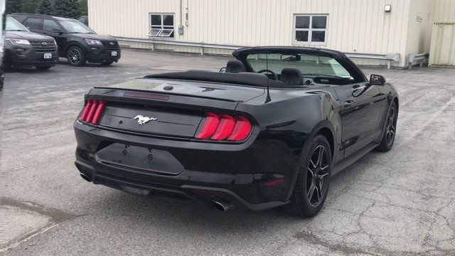 2018 Ford Mustang EcoBoost RWD Convertible 2.3L Ecoboost Engine 2 Door