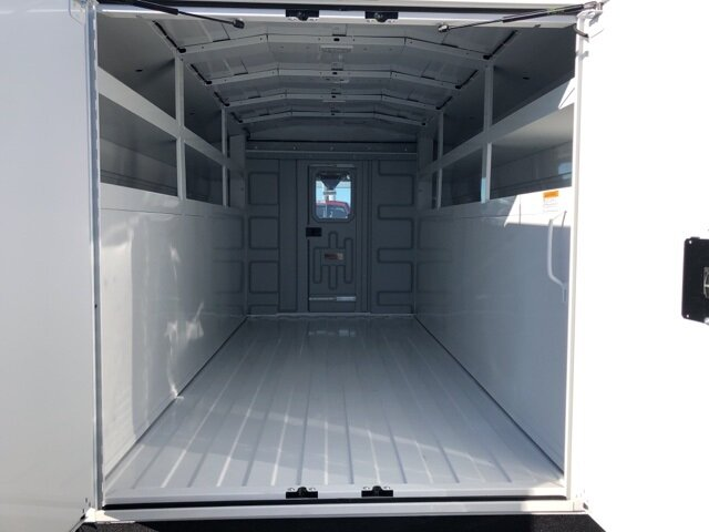 2020 Oxford White Ford Transit-350 Base RWD 2 Door Specialty Vehicle Cutaway