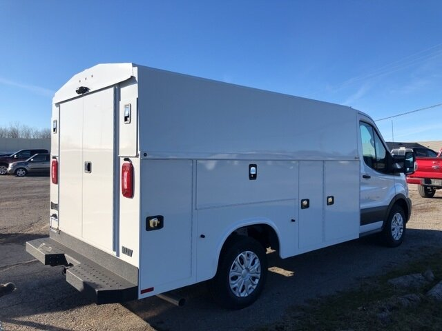 2020 Oxford White Ford Transit-350 Base 2 Door Specialty Vehicle Cutaway Automatic RWD