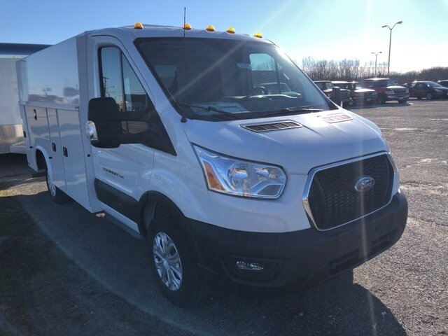 2020 Oxford White Ford Transit-350 Base V6 Engine Specialty Vehicle Cutaway RWD
