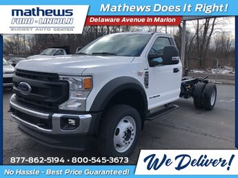 2021 Oxford White Ford Super Duty F-550 DRW XL 2 Door 4X4 Power Stroke 6.7L V8 DI 32V OHV Turbodiesel Engine