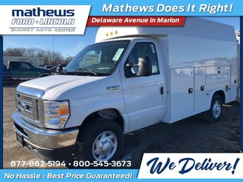 2021 Ford E-350SD Base Specialty Vehicle Cutaway 7.3L V8 Engine RWD 2 Door