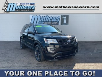 2017 SHADOW_BLACK Ford Explorer XLT SUV AWD 3.5 L 6-Cylinder Engine 4 Door Automatic