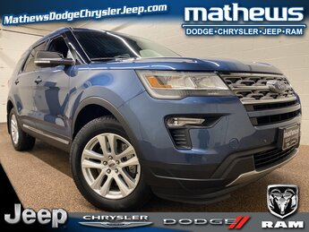 2018 Ford Explorer XLT 4 Door SUV Automatic 4X4