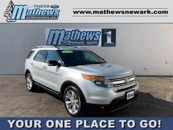 2014 Ingot Silver Metallic Ford Explorer XLT Automatic SUV AWD 3.5 L 6-Cylinder Engine 4 Door