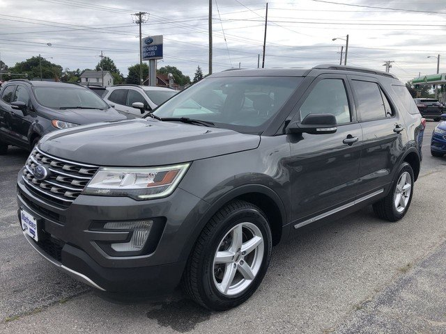 2016 Ford Explorer XLT SUV 3.5L V6 Cylinder Engine 4 Door