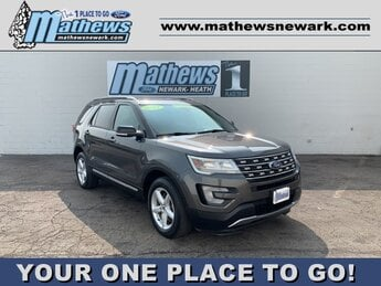 2017 MAGNETIC_GRAY Ford Explorer XLT Automatic AWD 3.5 L 6-Cylinder Engine 4 Door