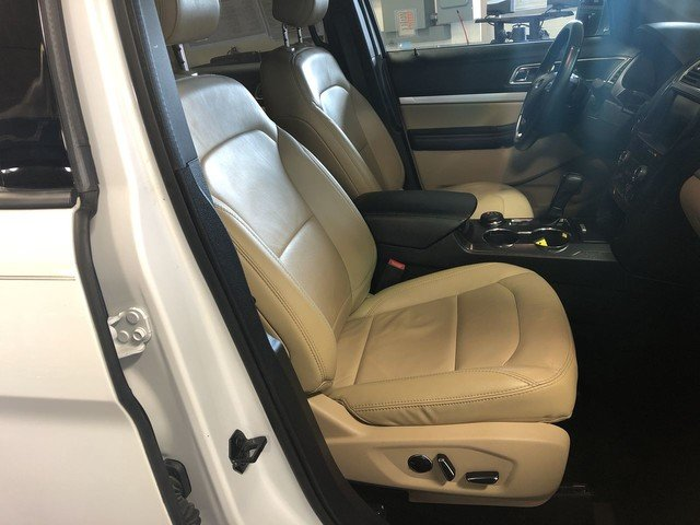 2016 Oxford White Ford Explorer XLT 2.3L 4-Cyl Engine 4X4 4 Door SUV Automatic