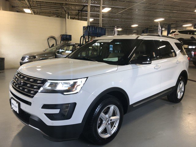 2016 Oxford White Ford Explorer XLT Automatic SUV 4 Door 2.3L 4-Cyl Engine 4X4