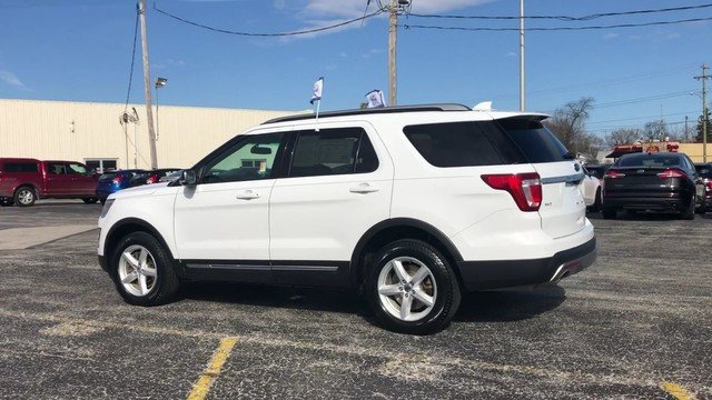 2016 Oxford White Ford Explorer XLT 4 Door 4X4 2.3L 4-Cyl Engine