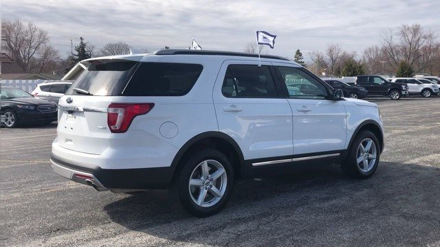 2016 Oxford White Ford Explorer XLT 4X4 4 Door 2.3L 4-Cyl Engine Automatic SUV