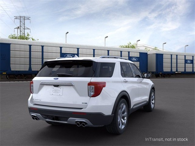 2020 Ford Explorer Platinum SUV AWD 3.0 L 6-Cylinder Engine Automatic 4 Door