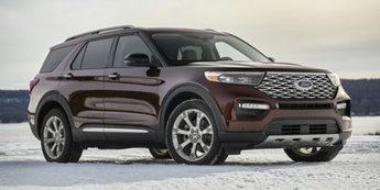 2020 METALLIC Ford Explorer Platinum 4X4 SUV 4 Door