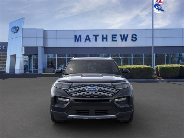 2020 Ford Explorer Platinum 4X4 SUV 3.0L 6-Cylinder Engine 4 Door
