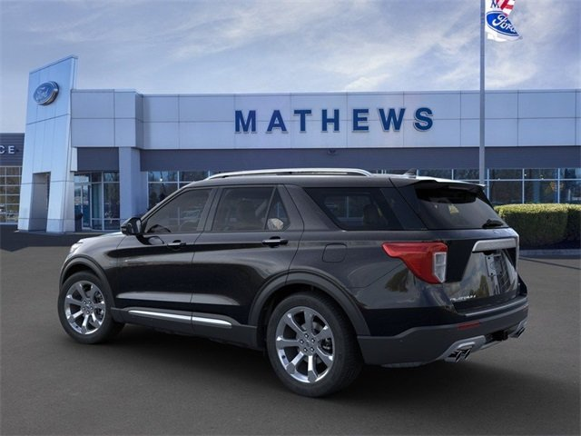 2020 Agate Black Metallic Ford Explorer Platinum 4 Door SUV Automatic 4X4