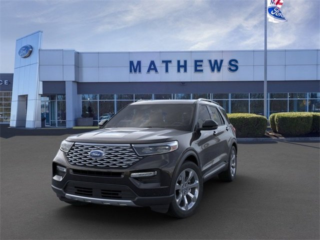 2020 Ford Explorer Platinum 4X4 4 Door SUV 3.0L 6-Cylinder Engine