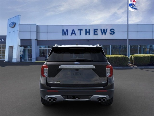 2020 Agate Black Metallic Ford Explorer Platinum 3.0L 6-Cylinder Engine Automatic 4X4 4 Door SUV