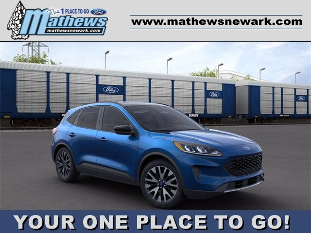 2020 Velocity Blue Metallic Ford Escape SE Sport Hybrid SUV Automatic (CVT) 4 Door