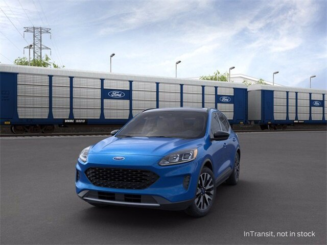 2020 Velocity Blue Metallic Ford Escape SE Sport Hybrid Automatic (CVT) 4 Door FWD 2.5 L 4-Cylinder Engine