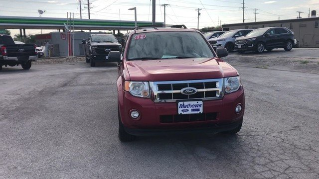 2012 Toreador Red Metallic Ford Escape XLT SUV Automatic FWD