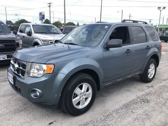 2012 Steel Blue Metallic Ford Escape XLT 2.5L I4 Duratec Engine FWD SUV