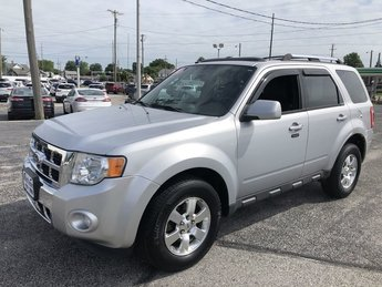 2011 Ingot Silver Metallic Ford Escape Limited SUV 2.5L I4 Duratec Engine Automatic 4 Door FWD