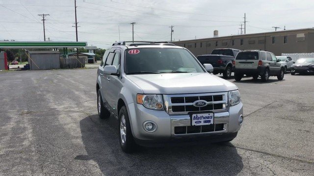 2011 Ingot Silver Metallic Ford Escape Limited SUV 2.5L I4 Duratec Engine FWD Automatic 4 Door