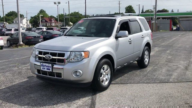 2011 Ford Escape Limited FWD SUV Automatic 2.5L I4 Duratec Engine