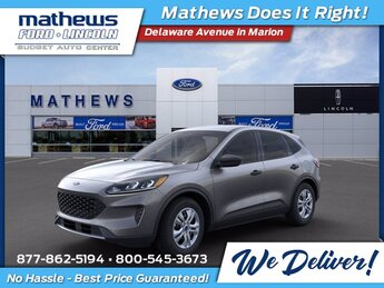 2021 Carbonized Gray Metallic Ford Escape S 1.5L EcoBoost Engine Automatic SUV FWD