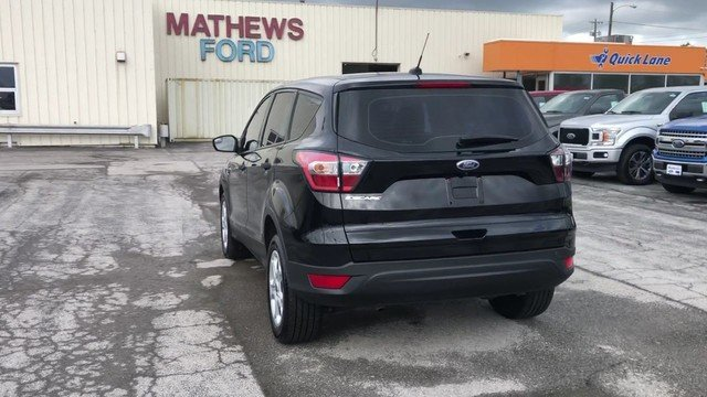 2017 Ford Escape S SUV Automatic 2.5L I-VCT Engine 4 Door