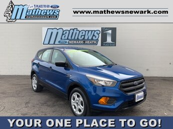 2019 Lightning Blue Metallic Ford Escape S 4 Door 2.5 L 4-Cylinder Engine Automatic FWD SUV