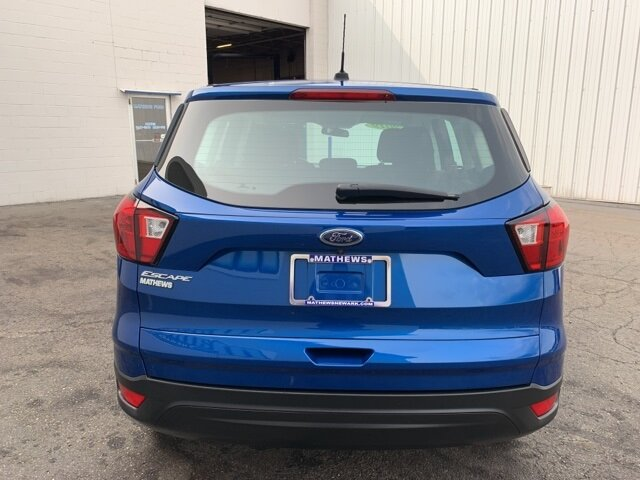 2019 Ford Escape S Automatic 2.5 L 4-Cylinder Engine 4 Door FWD SUV