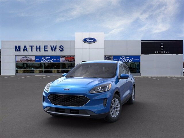 2021 Blue Ford Escape SE FWD SUV 1.5L EcoBoost Engine