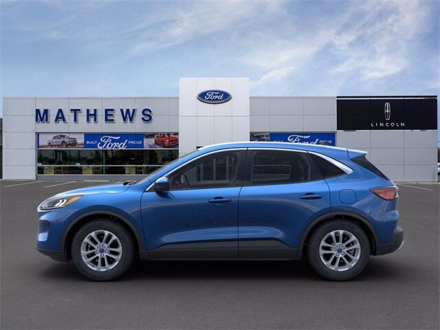 2021 Blue Ford Escape SE 1.5L EcoBoost Engine SUV 4 Door FWD Automatic