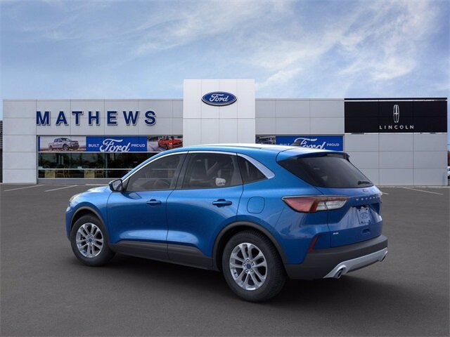 2021 Blue Ford Escape SE 1.5L EcoBoost Engine SUV FWD